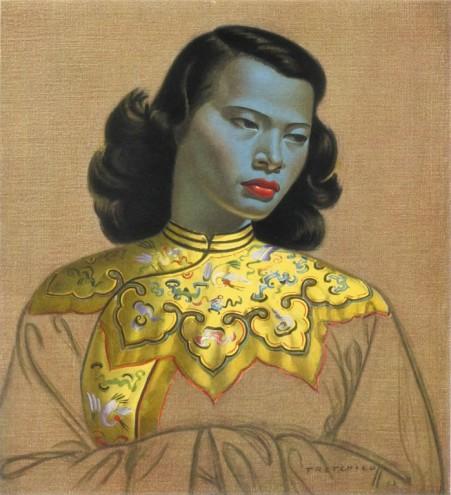 Chinese Girl by Vladimir Tretchikoff.