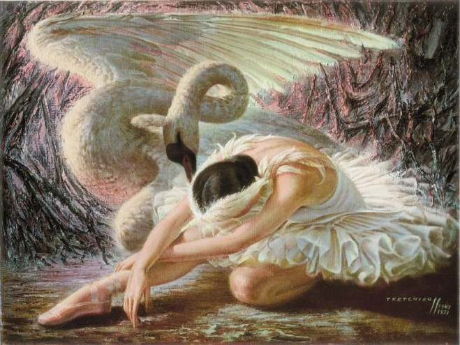 The Dying Swam by Vladimir Tretchikoff.