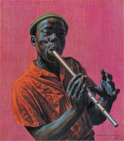 Kwela Boy by Vladimir Tretchikoff.