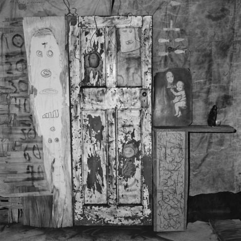 Peeling Door, 2007. Roger Ballen.