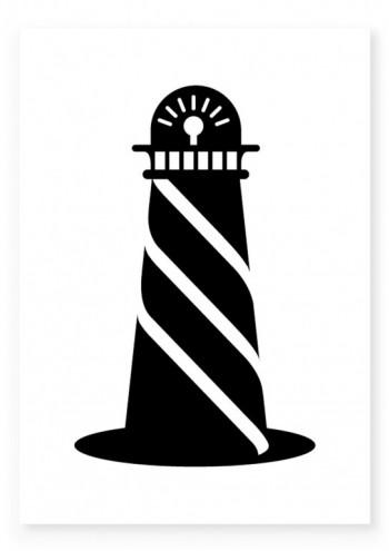 Lighthouse pillowcase designs by Daniel Ting Chong.