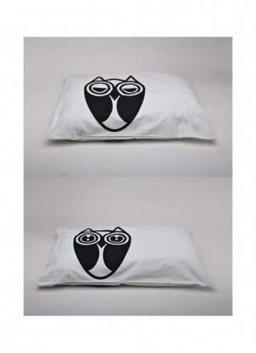 Owl pillowcase designs by Daniel Ting Chong.