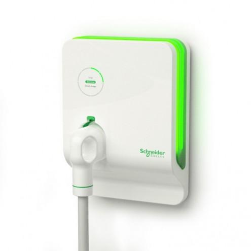 Schneider Electric recharge terminal.