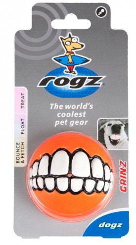 Rogz Grinz ball by Porky Hefer