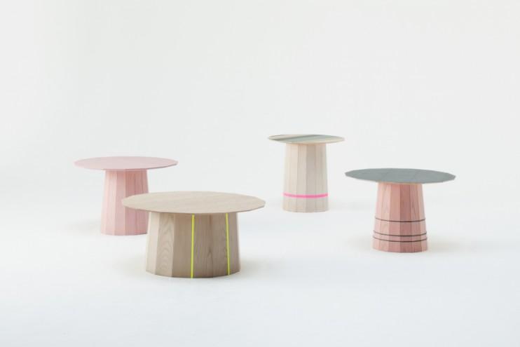Colour wood for Karimoku New Standard, Japan. Image: Takumi Ota.