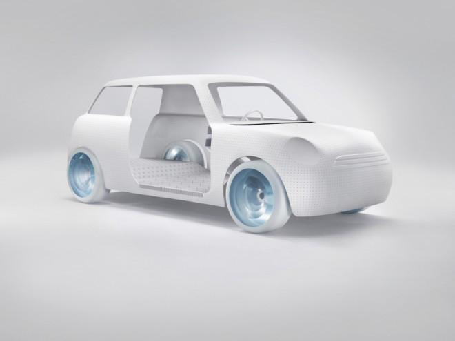 Colour One concept car. Image: MINI