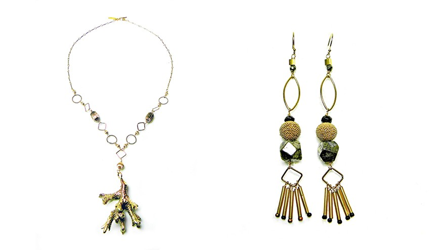 Beryl Dingemans' afrocentric, 70's-style jewellery