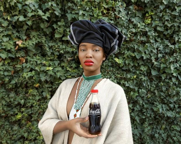 Tony Gum: Black Coca Cola, African Woman