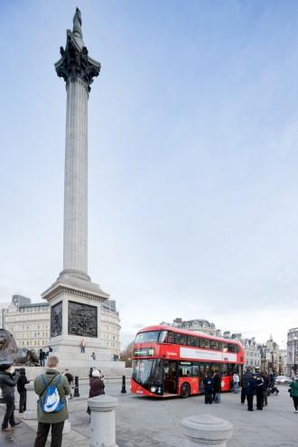 London's New Bus by Thomas Heatherwick. Image: Iwan Baan.