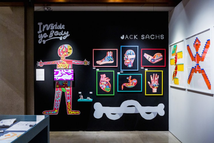 Jack Sachs' work on display at Pick Me Up 2016