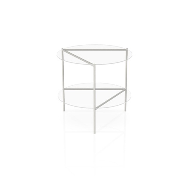 HAN Gallery - Bamboo-Steel Table.