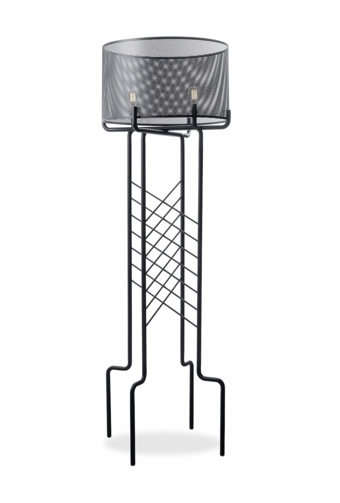 High Voltage Standing lamp by Adam Court for OKHA.