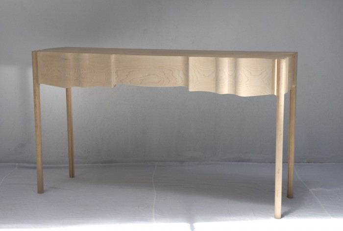 Linen Fold table by Koop.