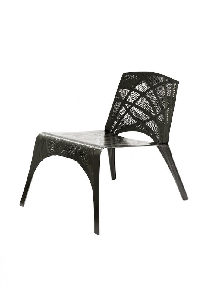 Fibre Placement Chair by Marleen Kaptein. Image: Studio Aandacht.