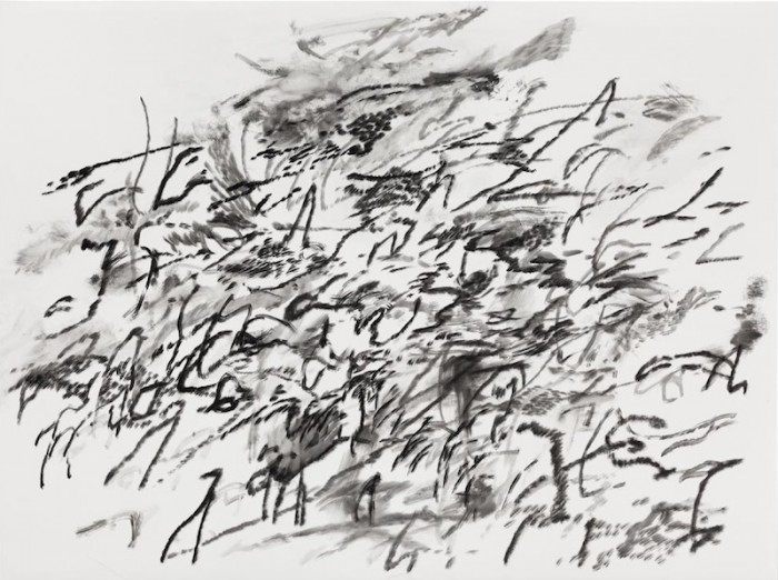 """Untitled, 2014"" by Julie Mehretu."