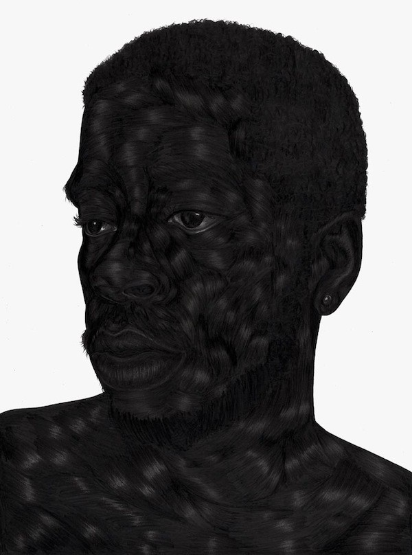 """You Have the Right"" by Toyin Odutola."