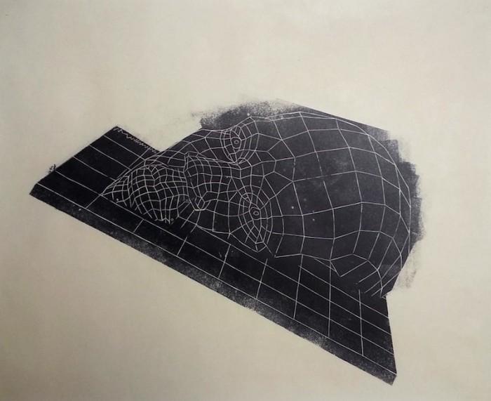 """Plane Study 1"""" by Yashua Klos."""