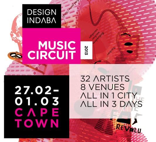 Design Indaba Music Circuit 2013