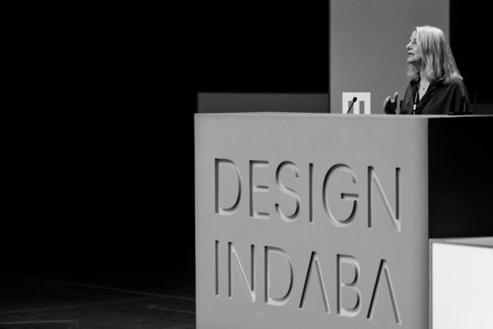Paula Scher at Design Indaba 2013.