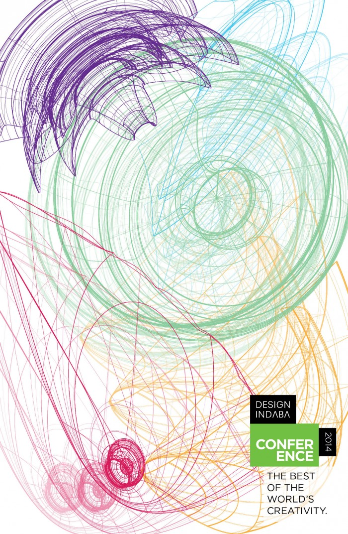Chevawn Blum's winning artwork for the Design Indaba 2014 Poster Competition.
