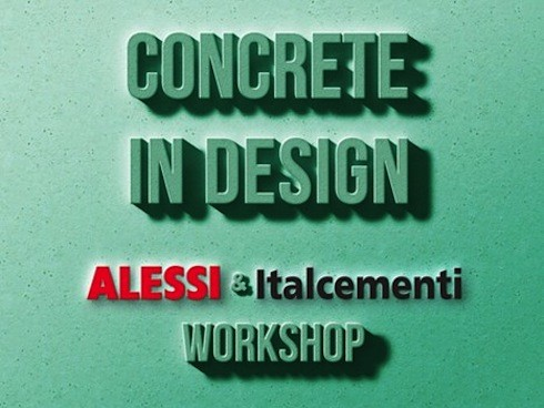 """Concrete in Design"" competition by Alessi."