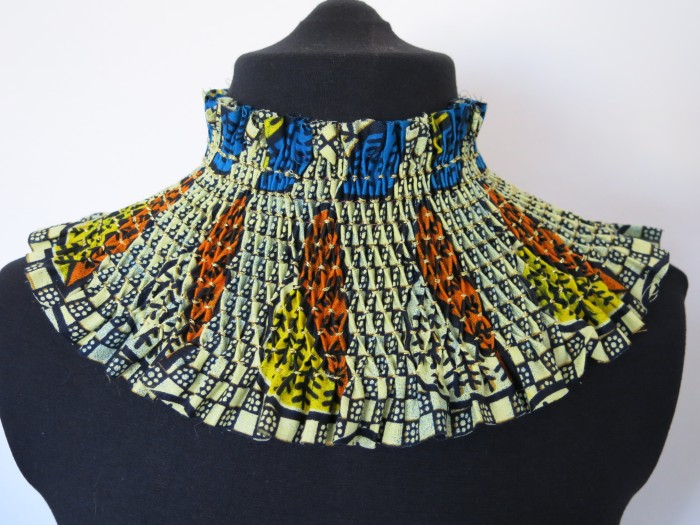 Smock Collar by Susan Didcott.