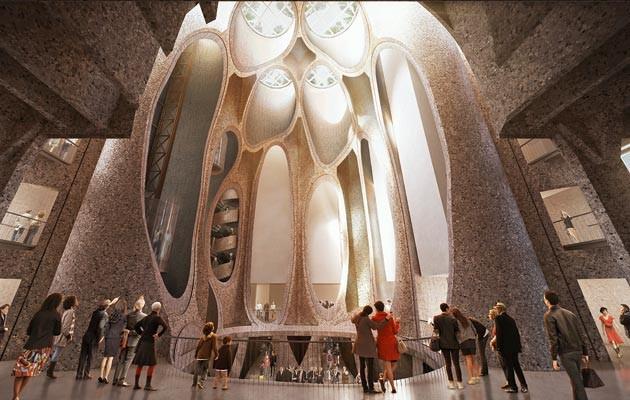 Zeitz Museum of Contemporary Art Africa designed by Thomas Heatherwick