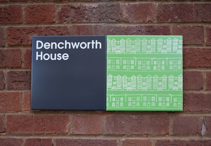 Stockwell wayfinding and signage by Hat-trick.