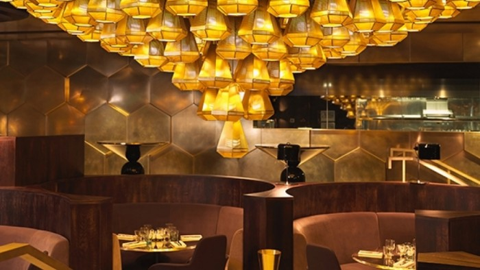 Eclectic Restaurant interior by Tom Dixon
