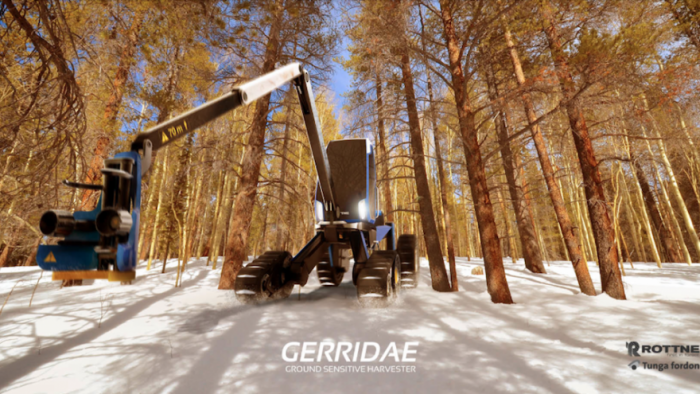 Gerridae Ground Sensitive Harvester