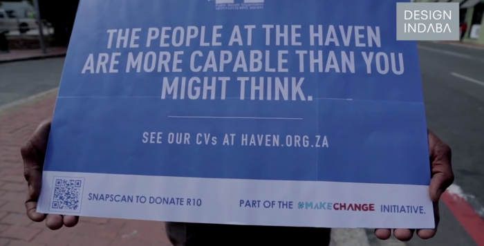The Haven #makechange inititiave