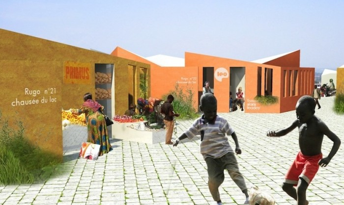 """<h3>Revitalising the vernacular</h3><p></p>George Pericles Creative Think-Tank, founded by French architects Anaïs Legrand and Guillaume Sardin, have proposed <a href=""""http://www.designindaba.com/galleries/creative-work/lookbook-rebranding-rwanda""""> a visual identity</a> for Rwanda's provincial government that uses a simplified system of traditional symbols. The small studio has also designed <a href=http://www.designindaba.com/articles/creative-work/new-rugo-social-housing>a low-cost housing project</a> tha"""