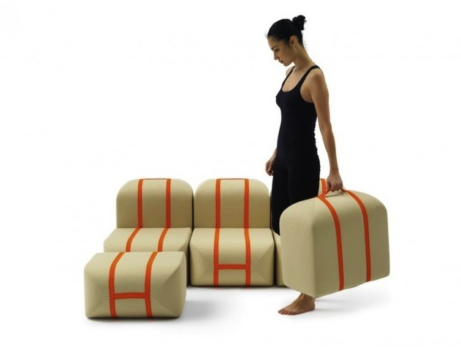 Self-made Seat by Matali Crasset.