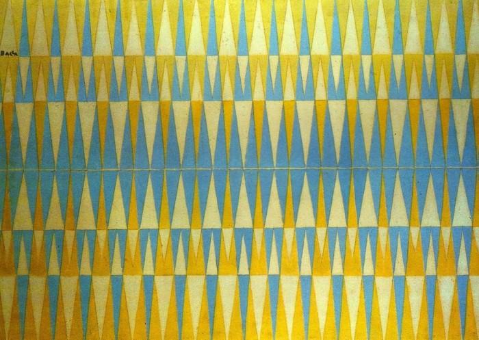 """Iridescent Interpenetration"" by Italian Futurist painter Giacomo Balla."