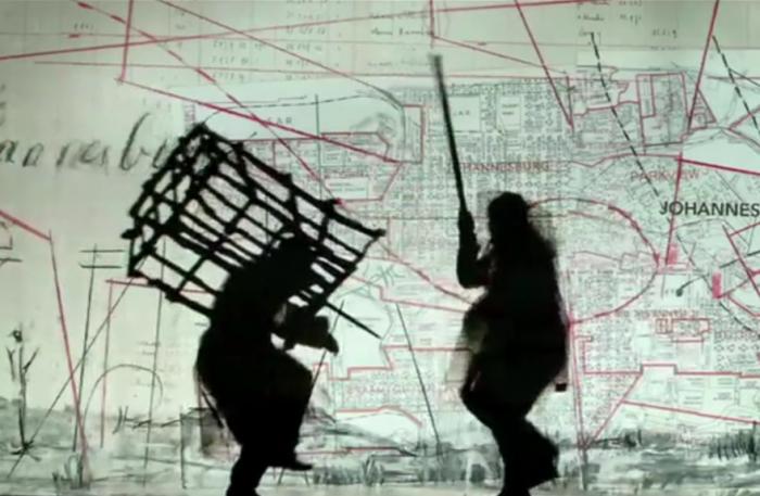 "William Kentridge ""Notes Towards a Model Opera"" opens in Beijing"