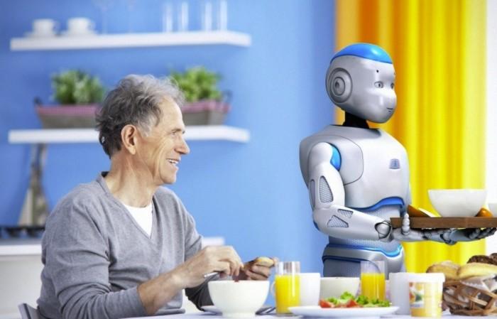 Romeo, Aldebaran's new robot companion, is currently in development