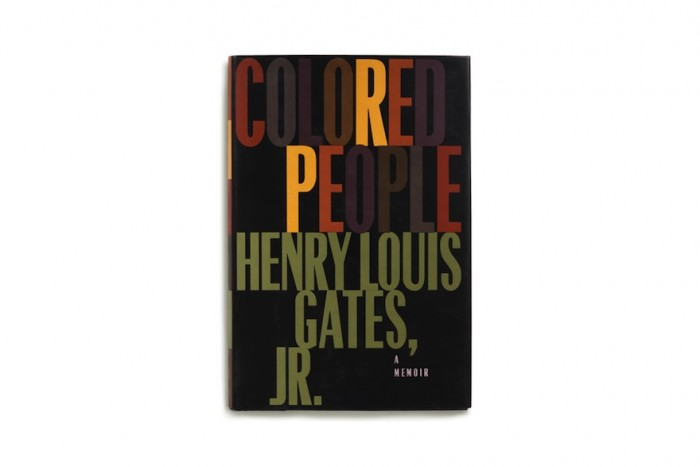 """The cover for the book """"Coloured People"""" by Henry Louis Gates, Jr. © Pentagram"""