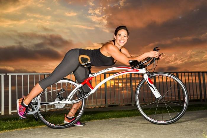 Riding the Bird of Prey Bicycle