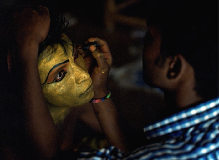 Face painting and clothing are a big part of how the Kothis choose to express themselves.