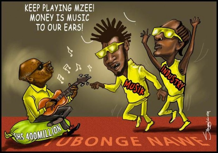 As Uganda enters election season, cartoonist Snoggie's political art becomes increasingly interesting