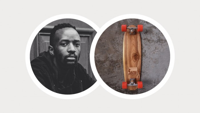 Dillion Phiri nominated the longboards created by Kent Lingeveldt