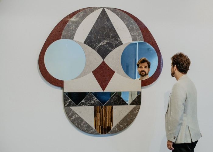 Jaime Hayon Face Mirror, Funtastico at Design Museum Holon