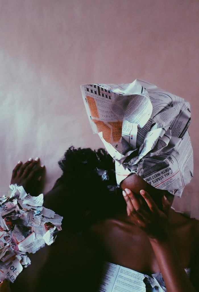 """From """"Where is the 'ME' in Media?""""- The Black Woman by Stephanie Mzee"""