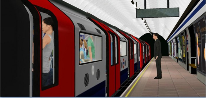 A virtual train station helps sufferers of paranoia face their fears