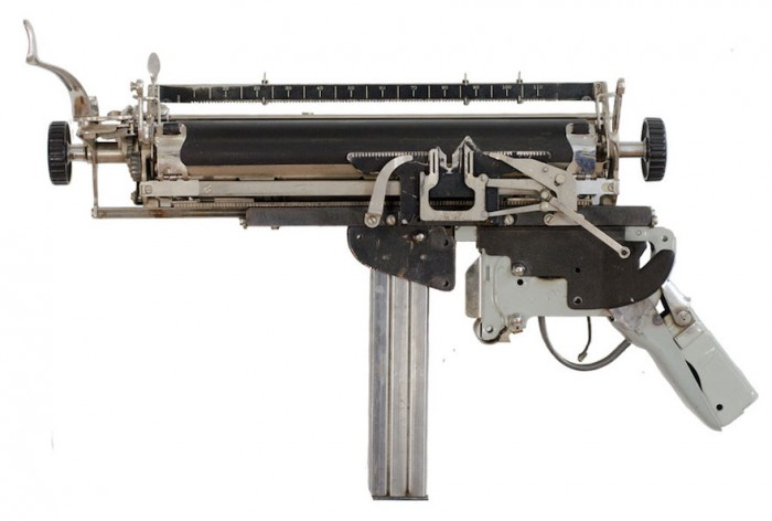 Antique typewriter components, stapler components, square bar scrap steel, scrap steel pipe