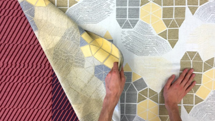 Jacquard-woven fabrics by Wovns