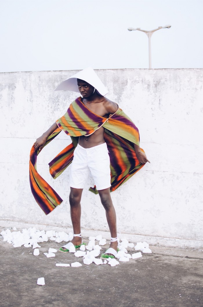 Arabe Belle: Accra-based fashion brand DoNeal launches their fall/winter collection, inspired by the people and landscape of Ghana's Cape Coast