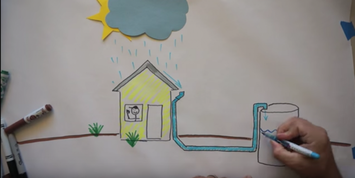Collecting raindrops to prevent water shortage | Design Indaba