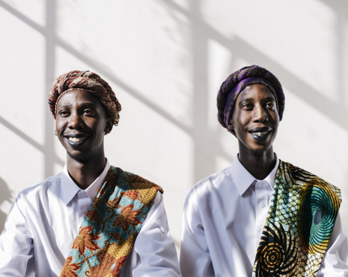In Part 4 of her series Intimate Strangers, Puleng Mongale captures another pair of lookalikes and sets the images to the lyrics of A Tribe Called Quest