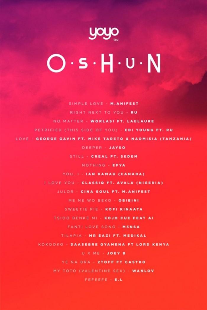 Oshun: Tunes for V-Day from Ghana | Design Indaba